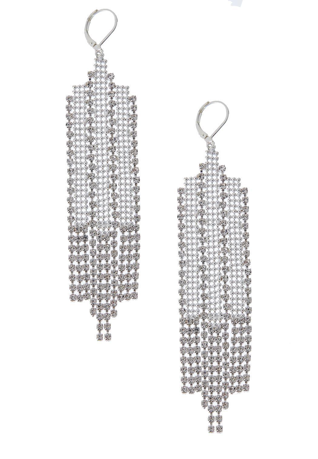 Flapper Chain Earrings