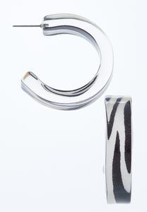 Lucite Open Back Earrings