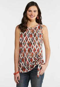 Printed Side Cinched Tank