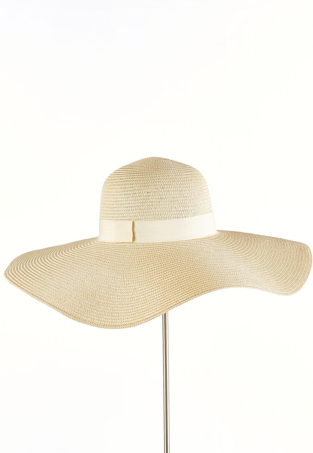 1dd4fabc9ff58c Natural Straw Floppy Hat Hats & Hair Cato Fashions