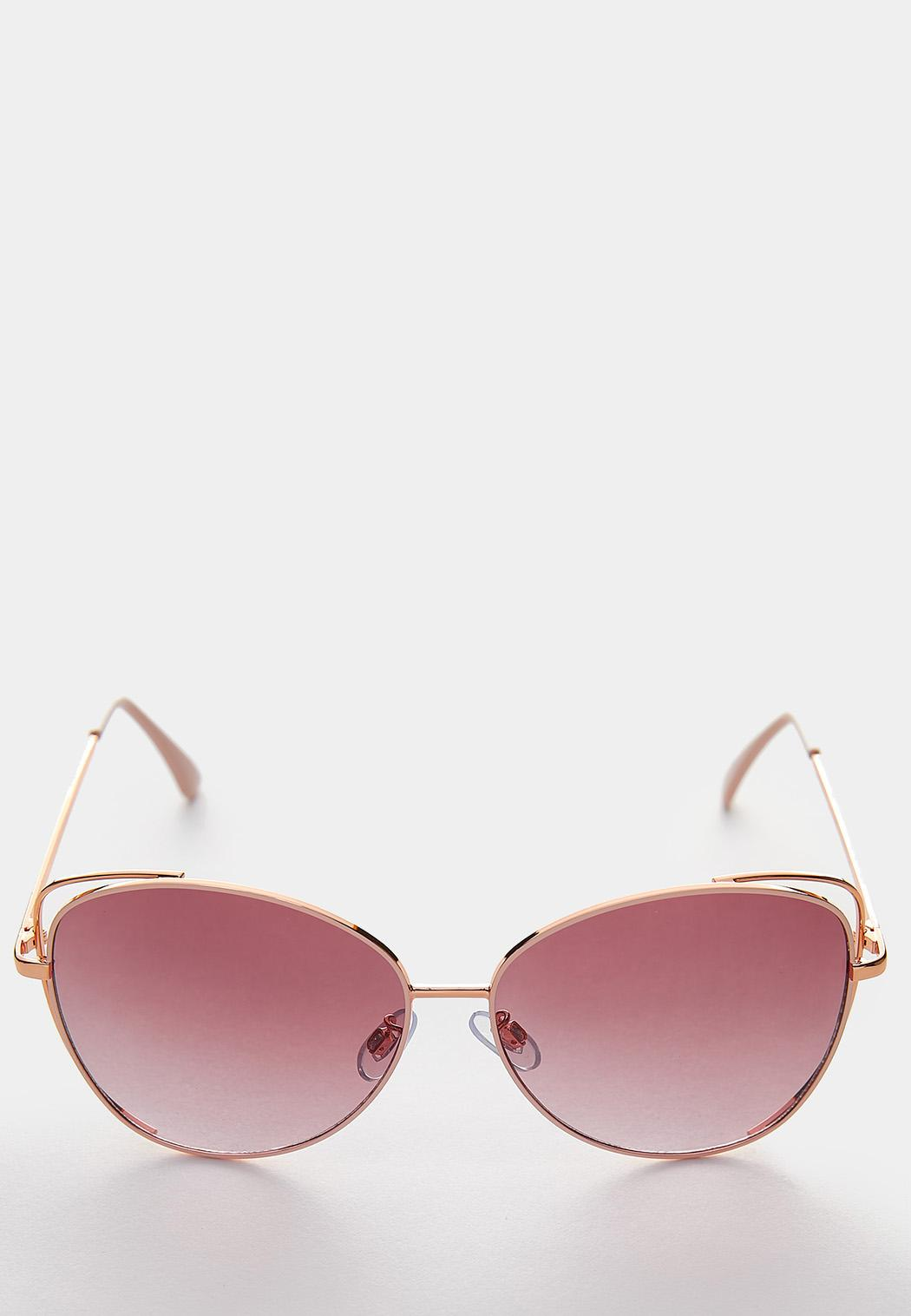 Pink Rim Tinted Sunglasses