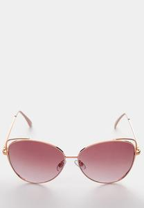 Pink Rim Tinted Sunglasses