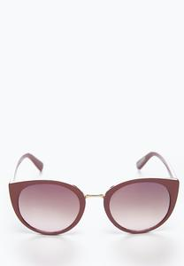 Shimmer Side Purple Sunglasses