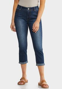 Cropped Shape Enhancing Skinny Jeans