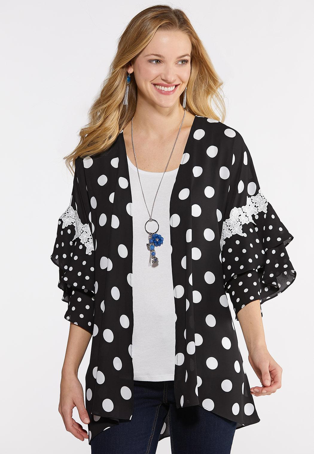 Polka Dot Kimono