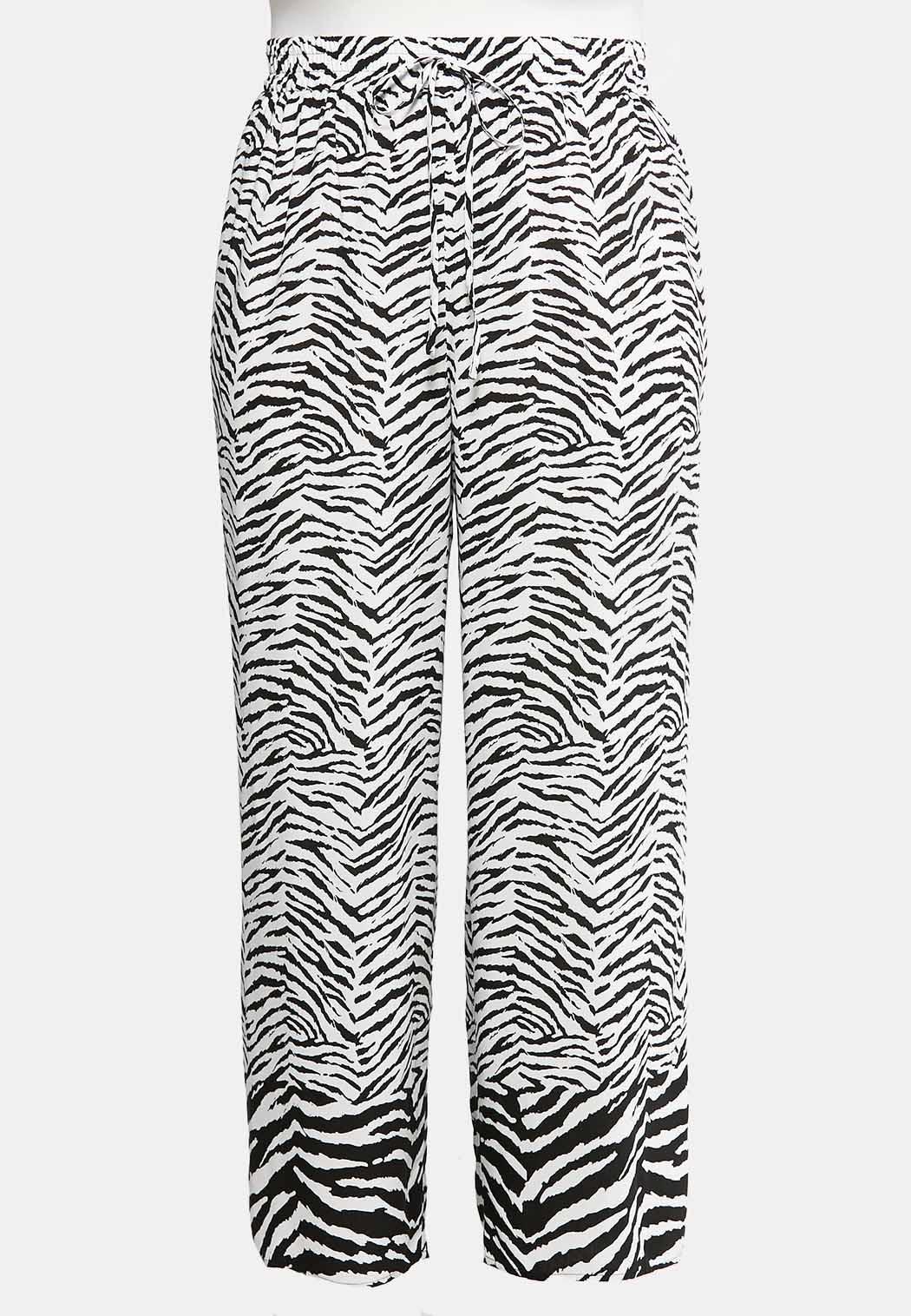 01ced066896bf0 Plus Size Zebra Palazzo Pants Pants Cato Fashions