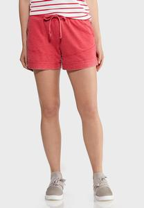 Faded Wash French Terry Shorts