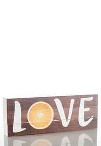 Fruit Slice Decorative Wood Plaque