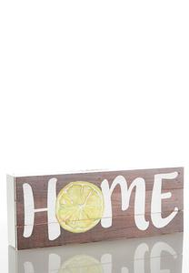 Fruit Slice Decorative Wood Plaque