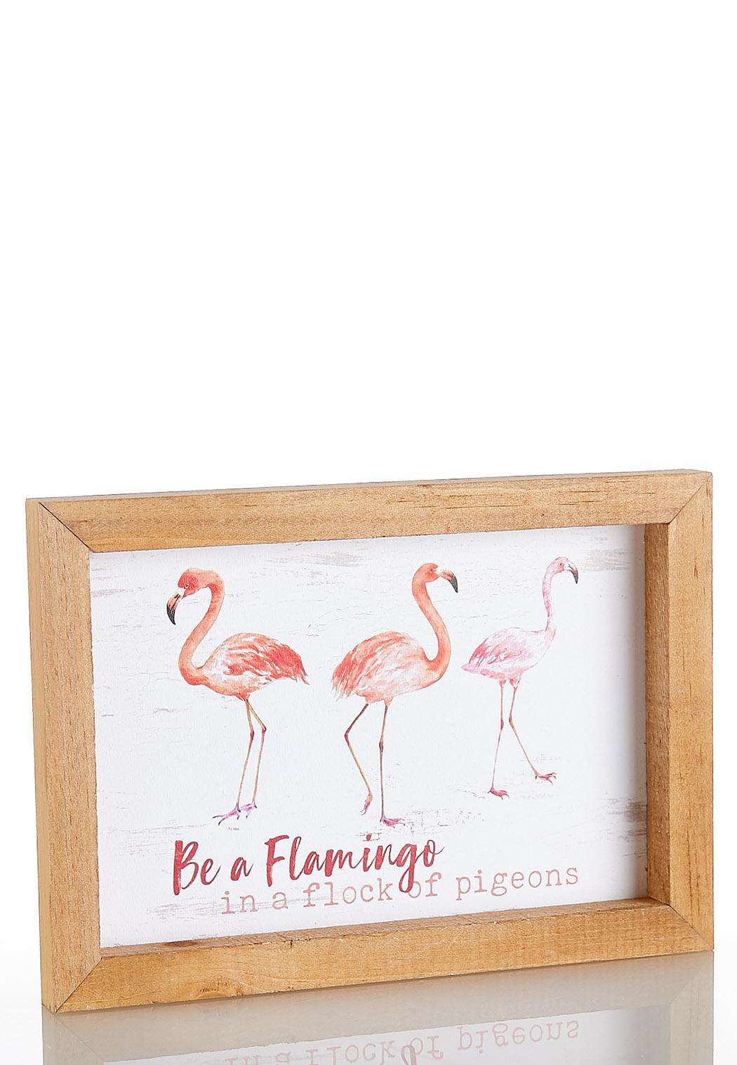 Flamingo Decorative Frame