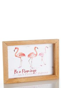 Flamingo Decorative Frame
