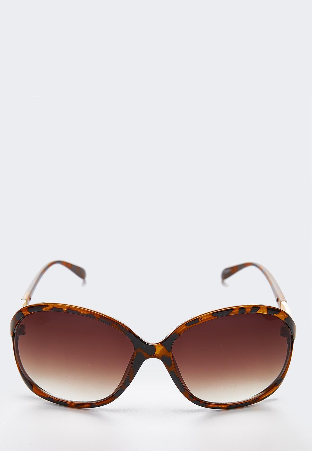 Tortoise Rock Glitter Sunglasses
