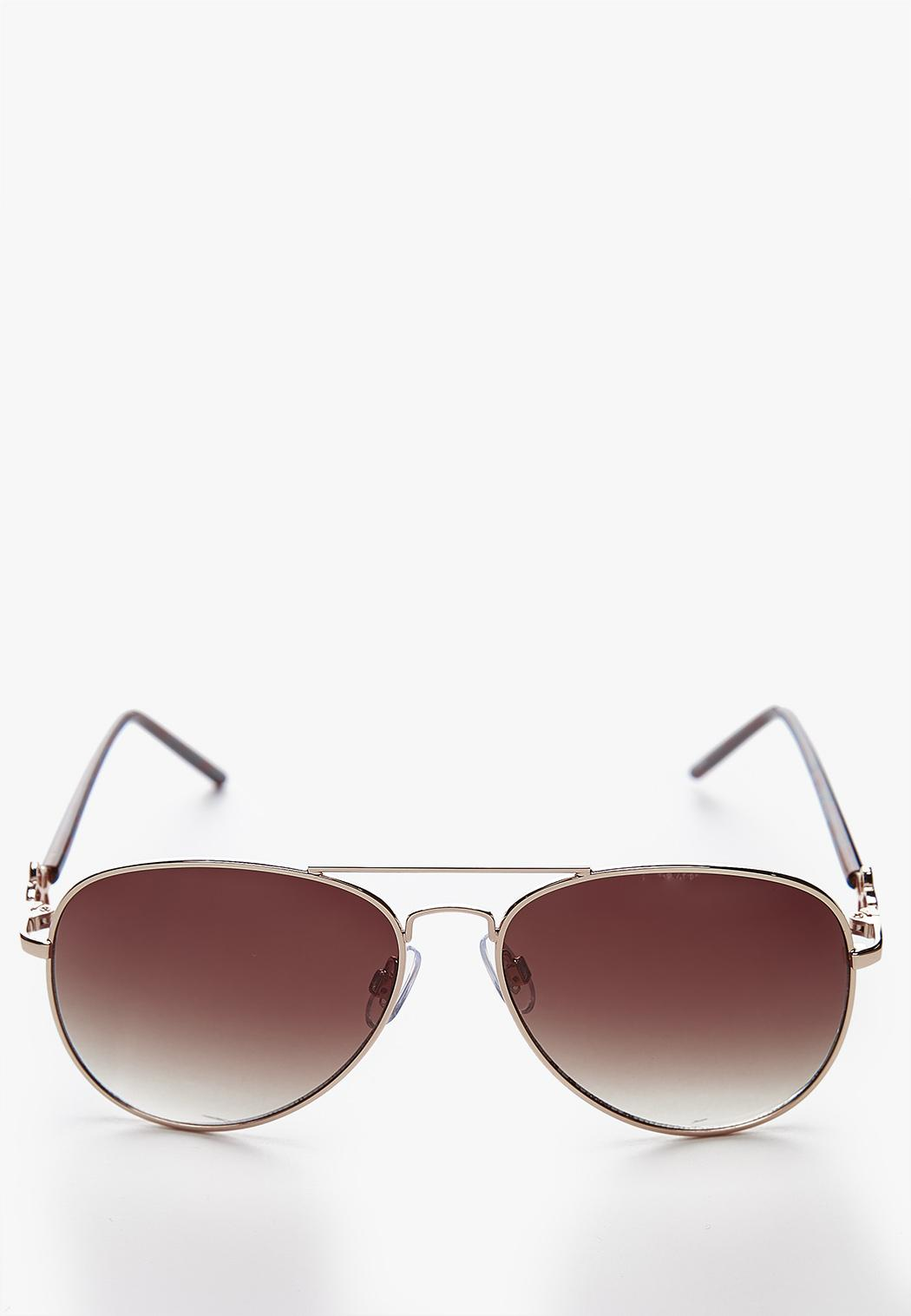 Cutout Flower Aviator Sunglasses