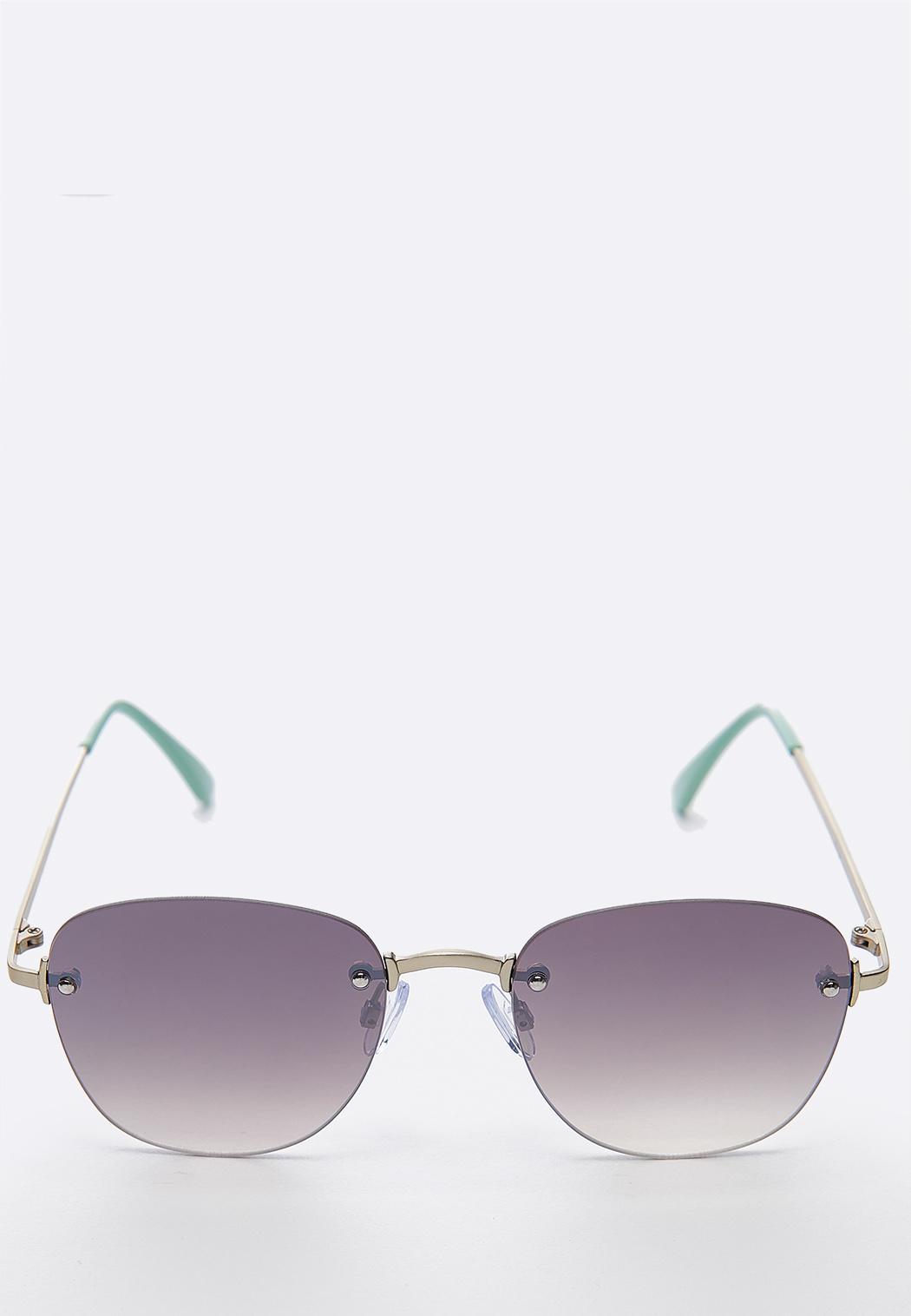 Mint Frameless Sunglasses