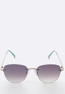 Mint Frameless Sunglasses
