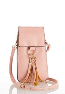 Tassel Strap Cellphone Crossbody