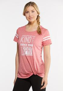 Plus Size Kind Heart Graphic Tee
