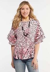 Pink Cheetah Top