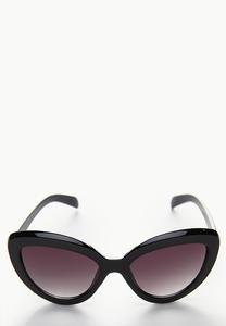 Dark Tint Statement Sunglasses