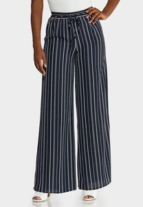 Arrow Stripe Palazzo Pants
