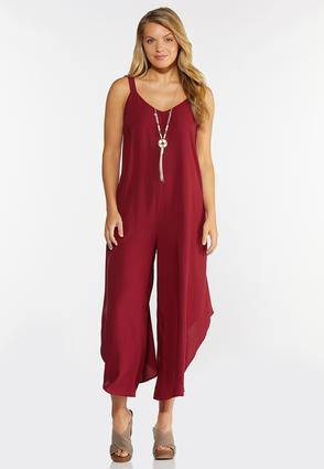 Lattice Back Genie Jumpsuit