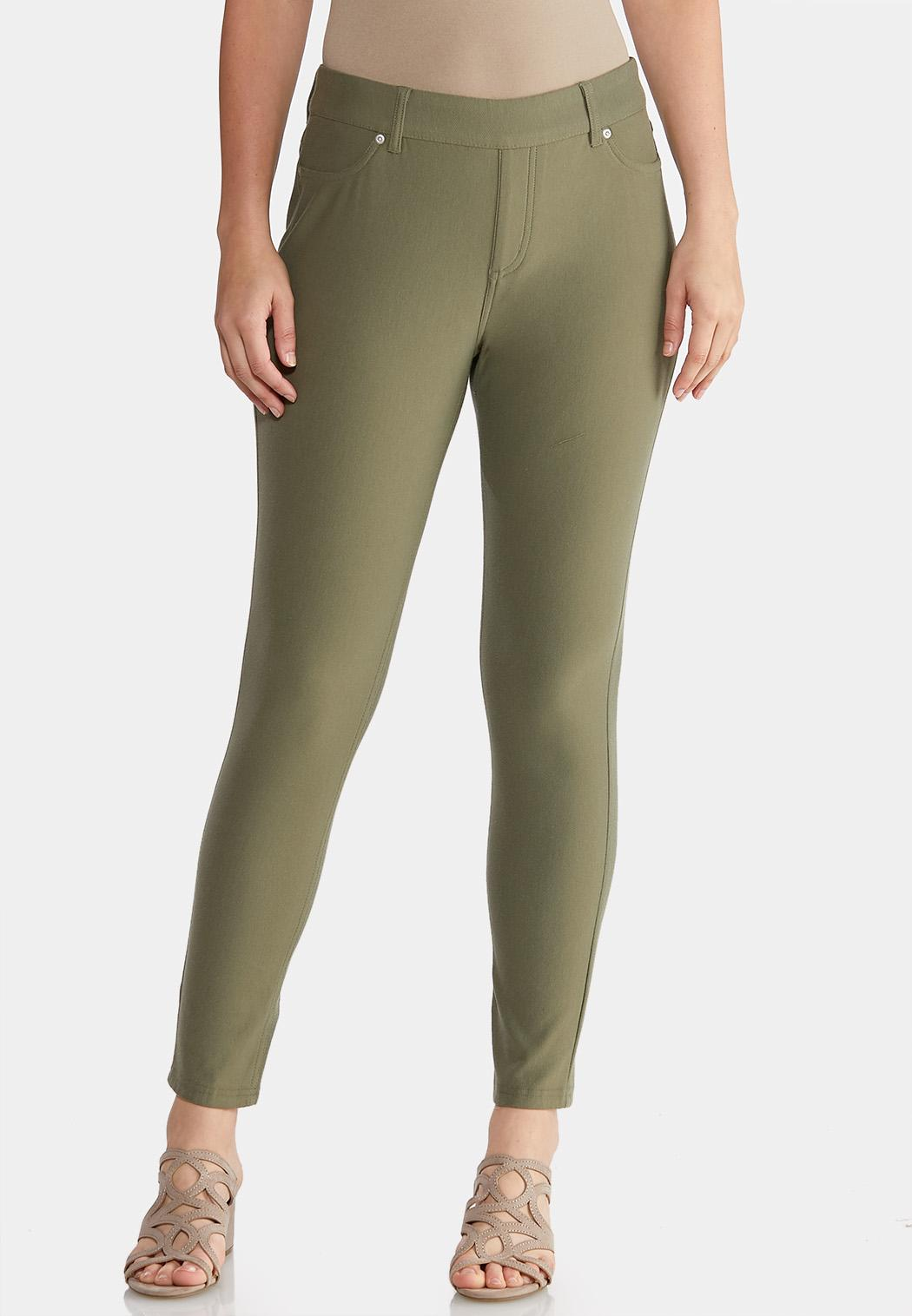 Petite Skinny Knit Pants