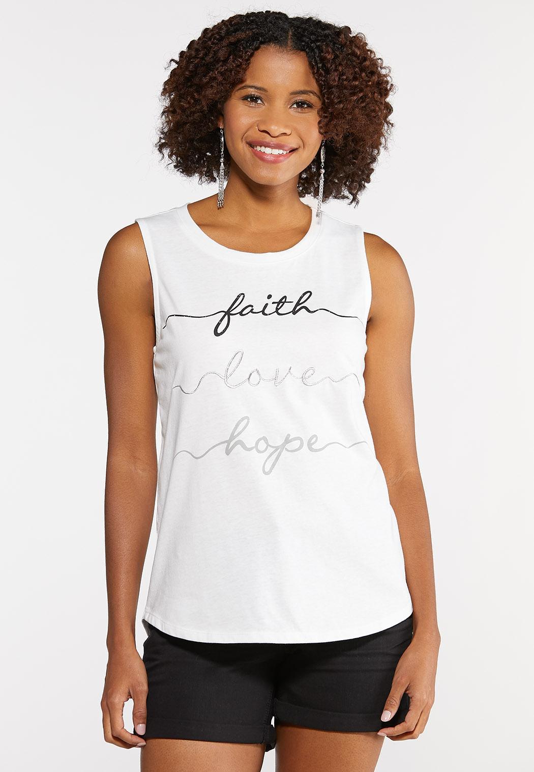 Faith Love Hope Tank