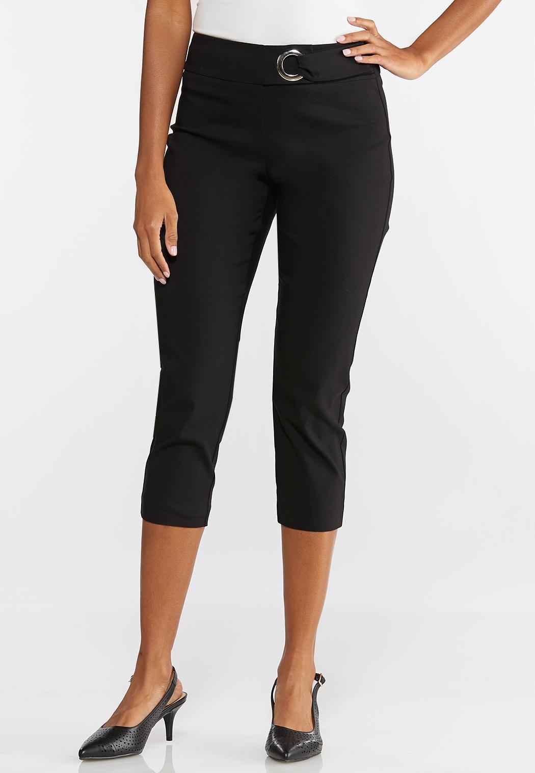 Hardware Cropped Pants