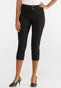 Hardware Cropped Pants