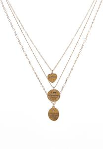 Delicate Layered Coin Necklace