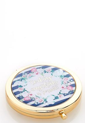Anything Is Possible Compact Mirror