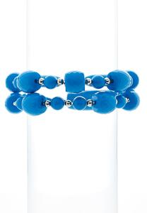Color Bead Stretch Bracelet Set