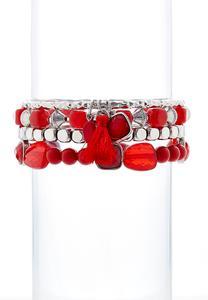 Chili Pepper Bracelet Set