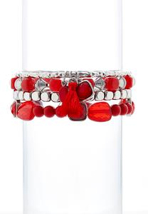 Chili Pepper Bracelet Set