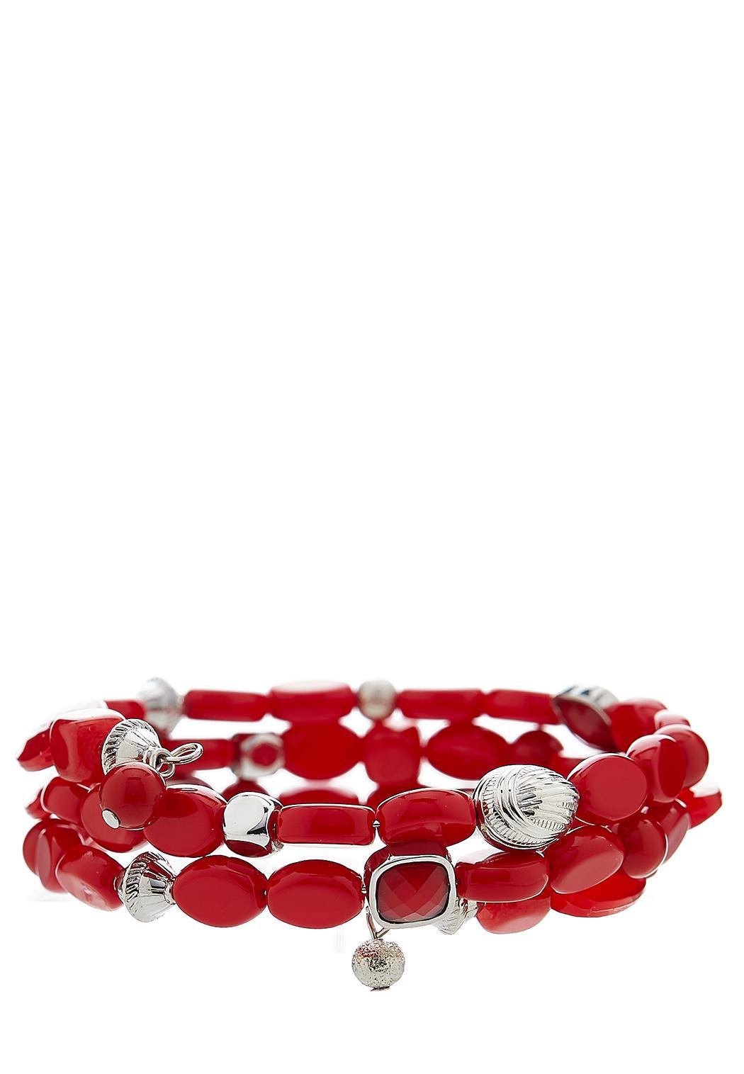 Chili Pepper Coil Bracelets