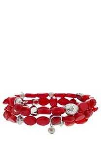 Chili Pepper Coil Bracelets