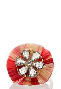 Ruffled Flower Ring