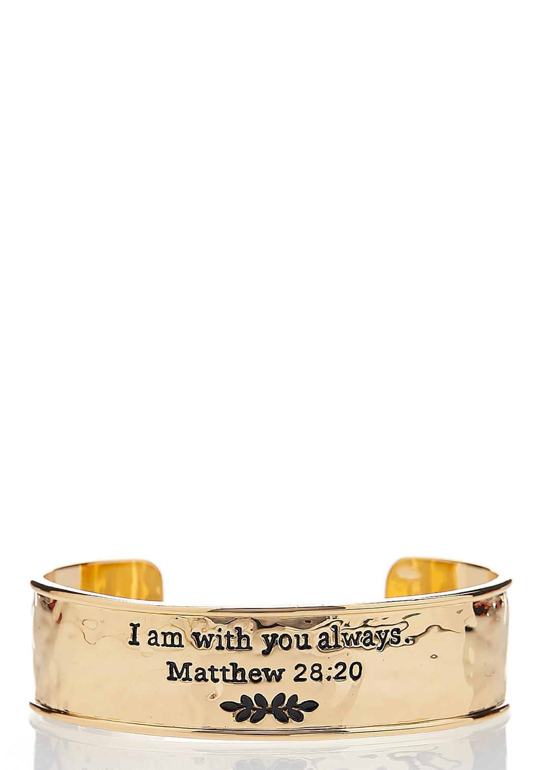 With You Always Cuff Bracelet