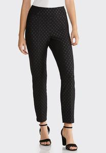 Dotted Knit Pants