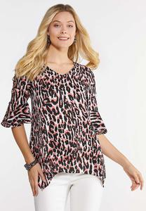 Neon Cheetah Top