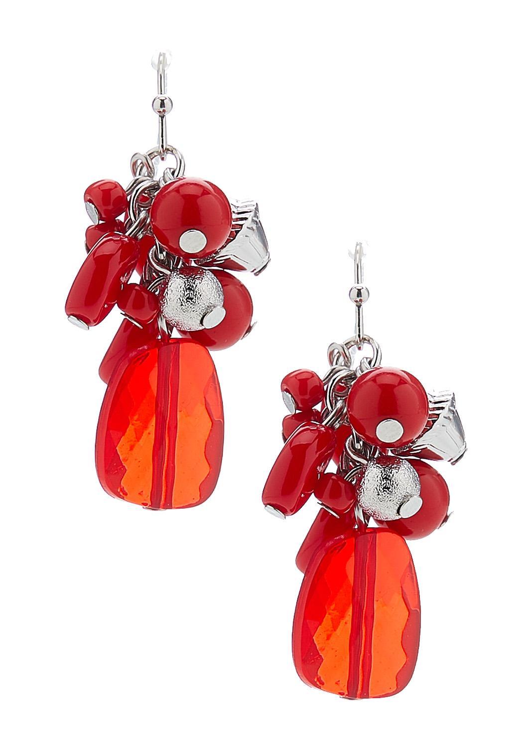 Cluster Charm Earrings