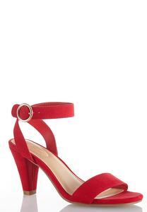 Ankle Strap Cone Heel Sandals