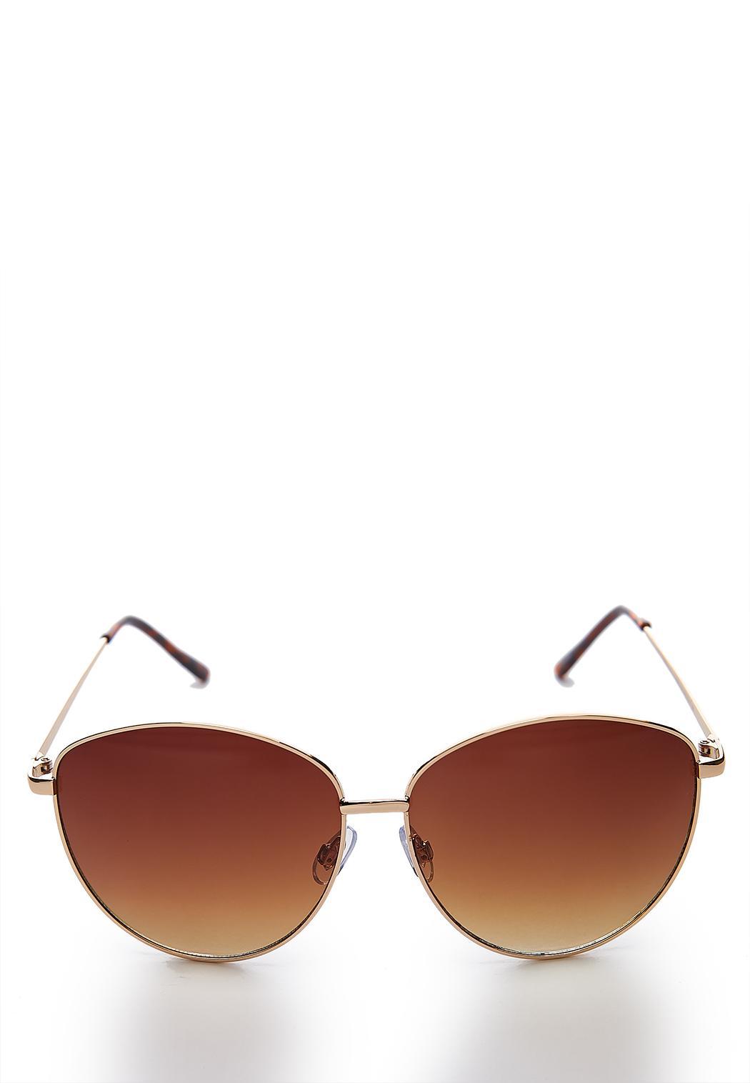 Round Statement Sunglasses