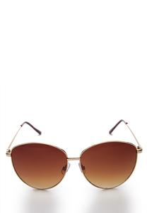 Round Statement Sunglasses