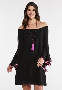 Plus Size Convertible Peasant Dress