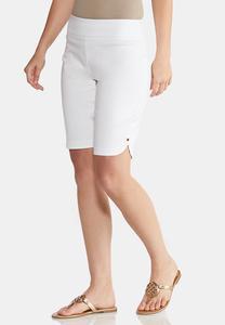 Sparkling Grommet Bermuda Shorts