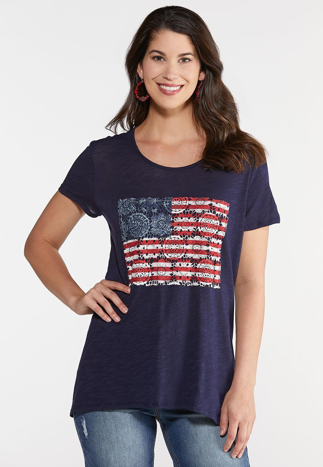 Crochet Americana Tee