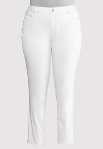 Plus Size Skinny Stretch Jeans