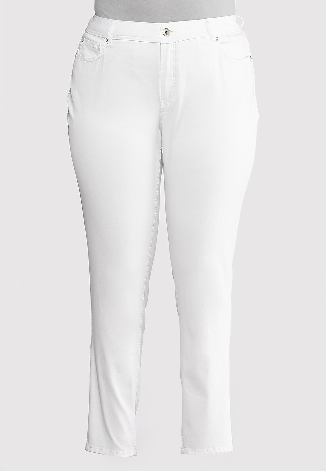Plus Extended Skinny Stretch Jeans
