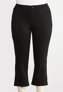 Plus Size Curvy Kick Flare Pants